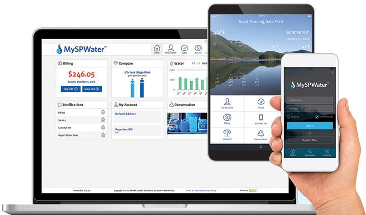 MySPWater Devices